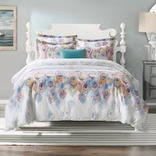 aivedo 600 thread count cotton 3 pieces duvet cover set egyptian quality bedd