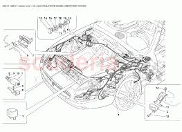 electrical engine compartment harness for maserati 3200 gt enlarge diagram · Â