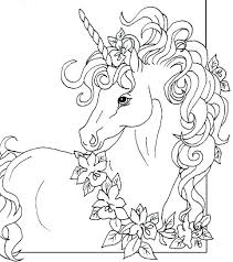 Unicorn Coloring Pages For Kids Unicorn Coloring Sheets Free Pages