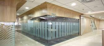glass partitions that can enhance the appearance of the office