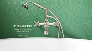 view all tub faucets