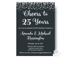 photo 3 of 7 invitation wedding anniversary cards inspirational