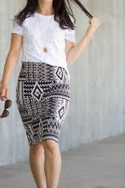 Knit Skirt Pattern Classy Knit Pencil Skirt Pattern ReMix Tutorial