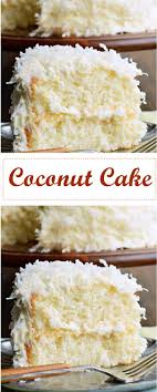 Coconut Cake Coconut Cake Cakerecipes Cakerecipeseasy Cakeideas