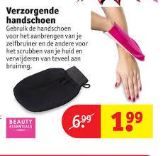 handschoen voor zelfbruiner