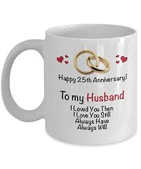 25th anniversary gift ideas for husband 25th wedding anniversary gift married 25 years coffee