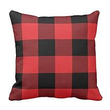 plaid throw pillows. Beautiful Throw Pillowcase Rustic Red And Black Buffalo Check Plaid Throw Pillow Cover 18 X  Inches On Pillows R