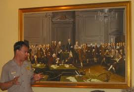 declaration of independence signing painting ma
