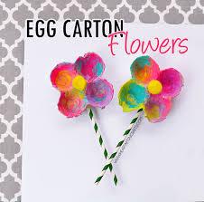 Paper Flower Crafts For Kindergarten Egg Carton Flowers I Heart Arts N Crafts