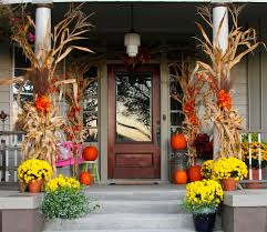 Fall Porch Decorating Decorating A Porch For Fall Sweet Sorghum Living