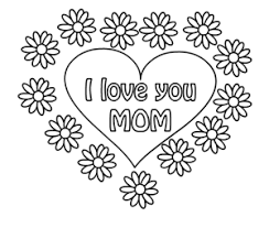 Small Picture Mothers Day Coloring Pages For Children Kids Toddlers Happy
