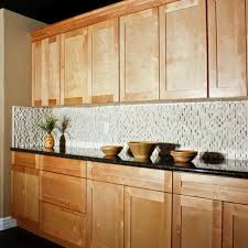 Natural Maple Shaker Kitchen Cabinets Hd Walls Find Wallpapers