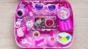 Đồ chơi trang điểm cho bé gái 11 món, máy chụp ảnh, son phấn, điện  thoại..Make up toys (Chim Xinh) - YouTube