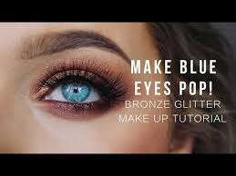 bronze looks wonderful against a backdrop of blue eyes this video shows you how to master the color in just the right way follow the easy step by step