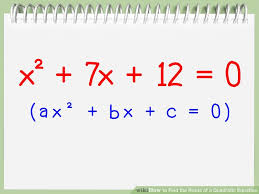 image titled find the roots of a quadratic equation step 7