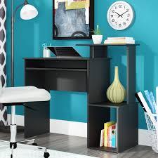 writing desks home office. Desk:Home Office Writing Desk Rolling Chair Workstation Black And White Desks Home