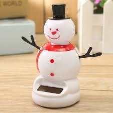 <b>Игрушка</b> для приборной панели <b>Танцующий</b> снеговик на липучке