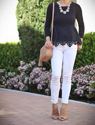 ann taylor petite botanical lace peplum sweater gucci soho disco leather bag