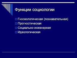 Реферат Функции социологического знания ru Банк  Функции социологического знания реферат