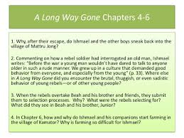 A Long Way Gone Quotes Classy A Long Waygoneunitpowerpointslides