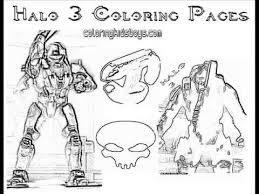 Small Picture ColoringBuddyMike Halo 3 Coloring Pages Plus Halo 4 YouTube