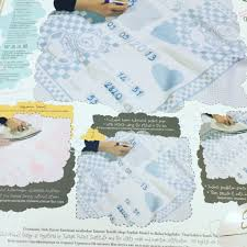 Memory Blanket Baby Girl Royal Home Goods