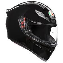 Agv K 1 Black Helmet