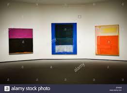 3 mark rothko paintings smithsonian national gallery of art washington dc usa