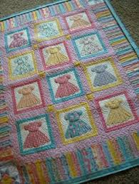 Gallery of Inspiring Ideas for Baby Boy Quilts | Doll quilt, Dolls ... & Adorable crib quilt with a vintage feel to the dresses. For dress memories  of I's childhood! Adamdwight.com