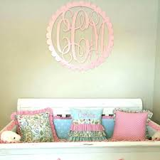 monogram wall decor metal impressive personalized embossed hanging painted  wooden w . monogram wall decor .