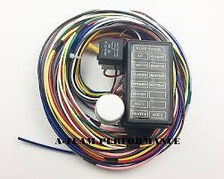 ez wiring 12 circuit hot rod wiring harness • 155 00 picclick 12 circuit universal wire harness muscle car hot rod street rod new xl wires