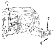 dodge durango audio system radio speaker amplifier and antenna