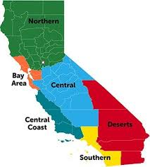 California Regions California Facts For Kids All About California