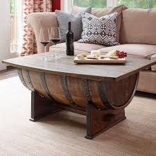 coffee table designs diy. Dfh11_whiskey Barrel Coffee Table Designs Diy