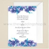 wedding invitations Wedding Cards Online Sri Lanka purple & blue floral wedding invitation wedding cards sri lanka