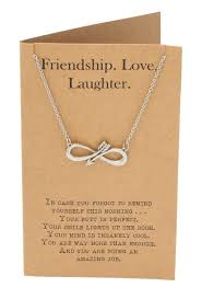 shannon infinity arrow friendship necklace for women with inspirationa quan jewelry