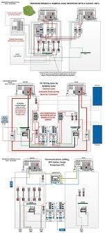 wiring diagram for solar inverter fresh fancy grid tie inverter wiring diagram electrical circuit