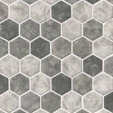 urban tapestry hexagon 6mm variation urban tapestry hexagon glass mosaic tiles feature whites