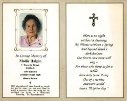 Memorial Card Template Prayer Card Template Missionary Publisher Spitznas Info