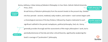 Example Of Chicago Style Essay How To Write An Annotated Bibliography In Chicago Turabian Style
