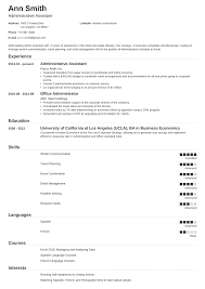 Administrative Assitant Resumes Administrative Assistant Resume Sample Guide 20 Examples