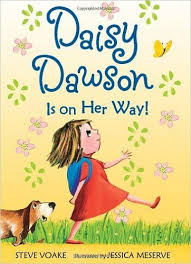 book daisy dawson is on her way by steve voake charming pencil and ink drawings acpany a fun story introducing daisy an elementary who