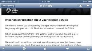 Time Warner Cable Jacking Up Modem Fees Consumerist