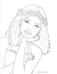 Fashion Coloring Pages Antiatominfo
