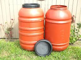 food grade rain barrel water storage barrels