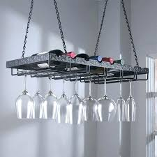 hanging wine glass rack rake diy holder necklace
