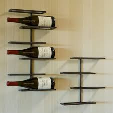 tribeca 4 bottle wall mounted wine rack pertaining to wall mounted wine racks