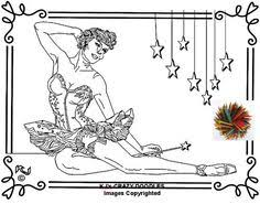 Small Picture Ballerina Music Box Adult Coloring Page by AmeliasArtCorner AND