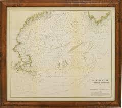 Gulf Of Maine Chart Gulf Of Maine 1878 By U S Coast Survey