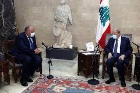 """وزير خارجية مصر من بعبدا: """"التواصل مع كل الجهات للخروج من الأزمة"""" – العربي  المستقل"""